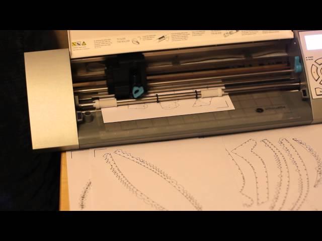 Silhouette Cameo Paper Craft (Pepakura) cutter