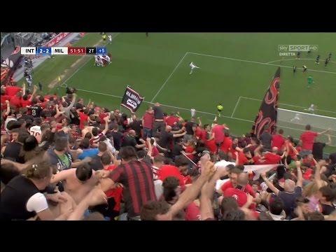 INTER-MILAN 2-2 Oasis + GOL ZAPATA [Glo rya Sky Sport HD]