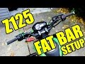 Fat Bar Setup Z125 / Grom - Protaper, RSC Clutch, Driven Bar Adapters