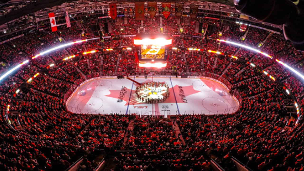 Ottawa Montreal And Toronto Sing O Canada Youtube