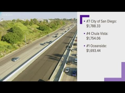3 San Diego Cities Make List For Low Car Insurance Premiums