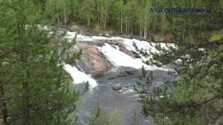 Колвицкий водопад