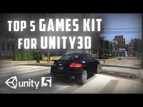 Top 5 Games Kit for Unity 3D