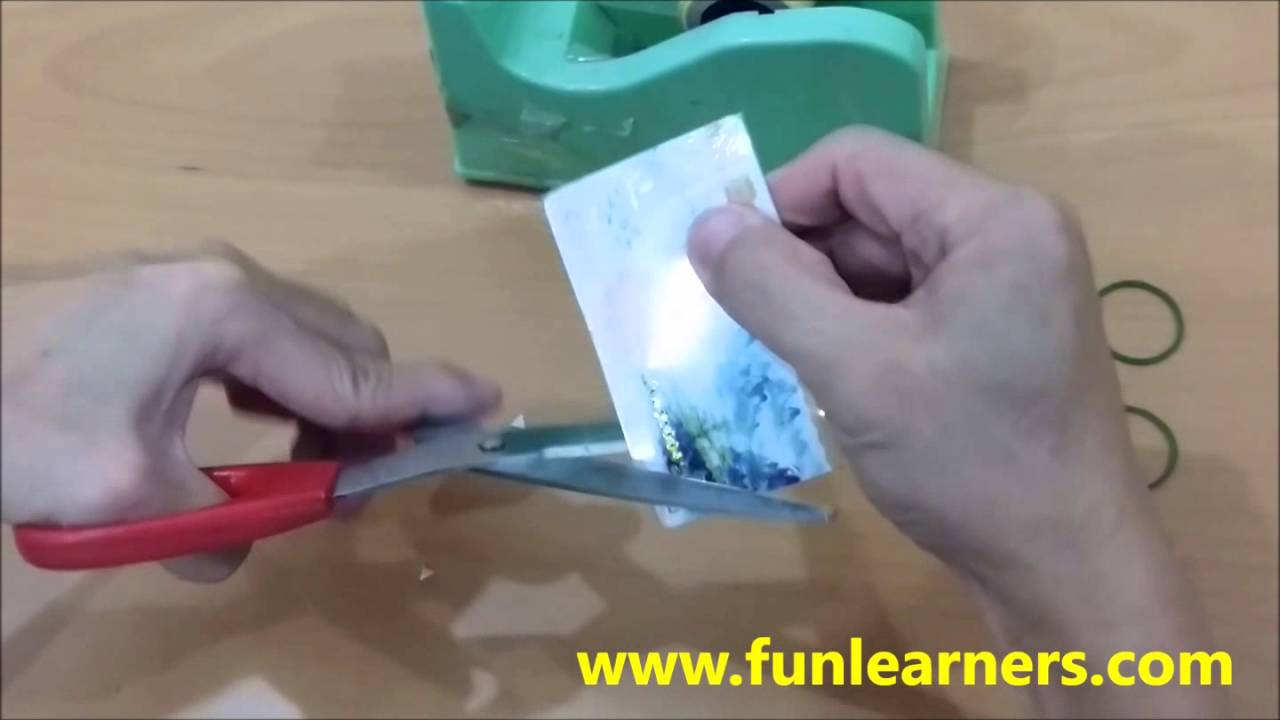 DIY jumping card