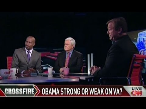Heller Appears on CNN's Crossfire to Discuss the State of VA Healthcare   Part 1