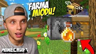 Jak ZROBIĆ FARMĘ MIODU w Minecraft?