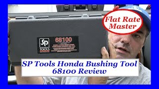 Schley Products Honda Bushing Tool 68100 Review