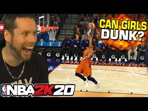Can a girl dunk in NBA 2K20?