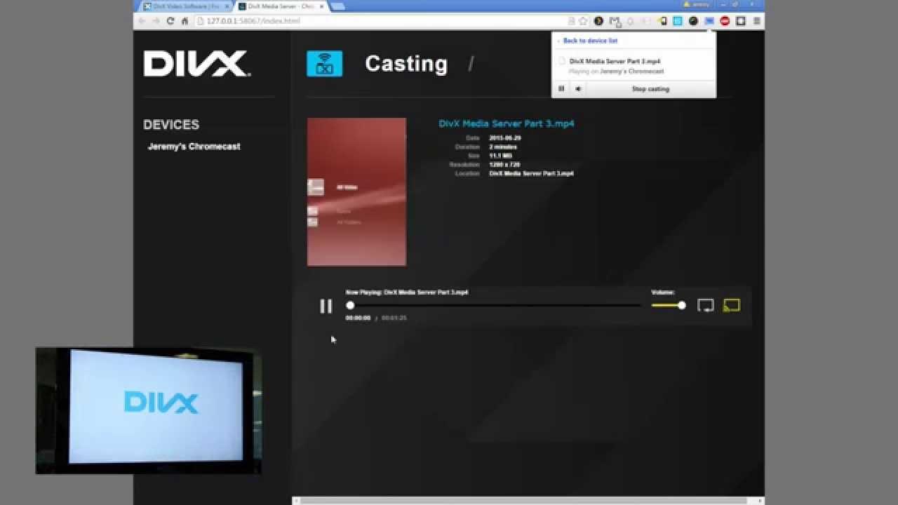 How to stream to Chromecast with DMS (DivX Media Server)