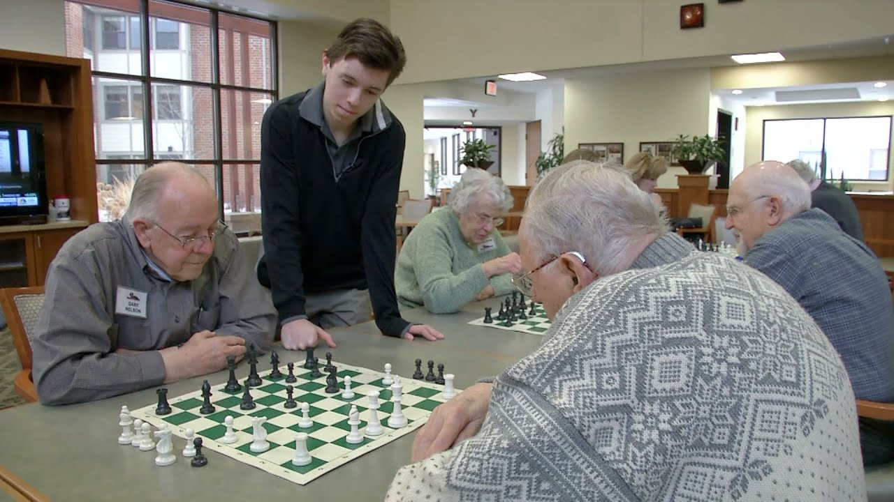 Teen senior citizens
