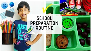 Daily Routine for Kids | Back to School | School shopping