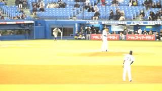 2015年4月9日プロ野球、ヤクルトスワローズvs中日 ソフトバンクか...