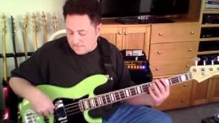 My Sharona - The Knack Bass Cover Playalong