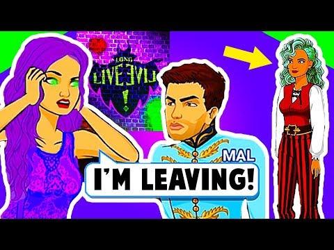 DESCENDANTS 3 MAL AND BEN BREAK UP! UMA RETURNS...🍎 Descendants Reversed (Episode 1-7) - App Game