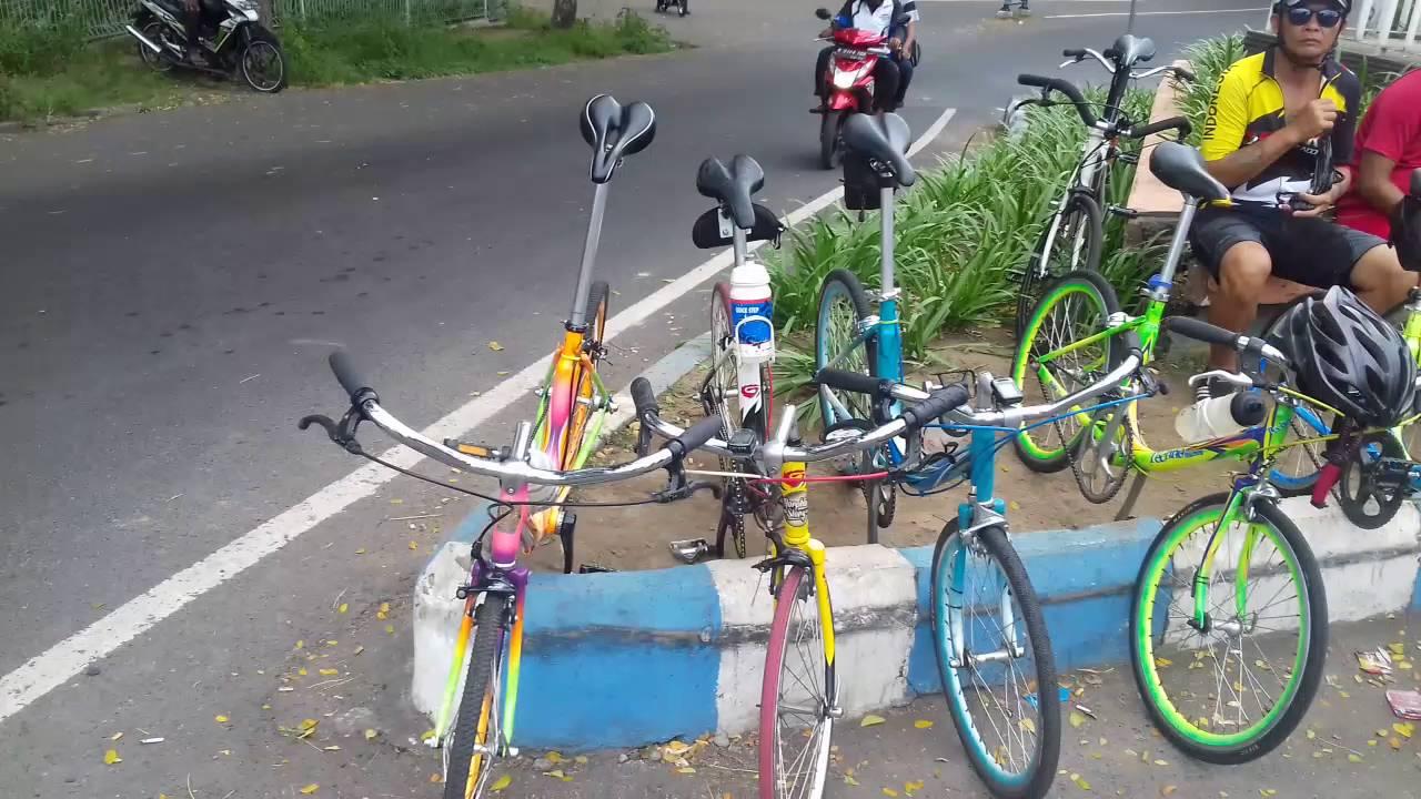 Sepeda Minitrek Surabaya Touring Pandaan YouTube