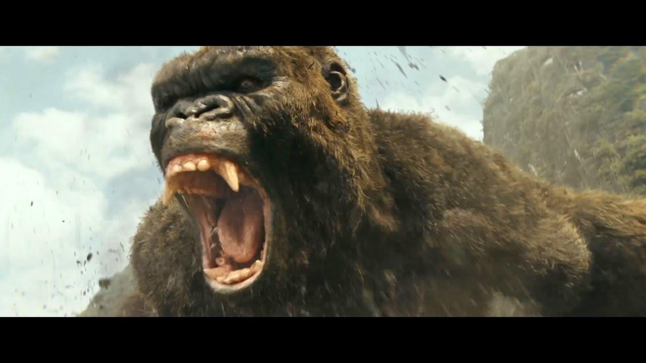 映画『キングコング:髑髏島の巨神』特別映像(Kong is King)【HD】2017年3月25日公開 - YouTube