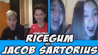 RICEGUM AND JACOB SARTORIUS On OMEGLE! (Omegle Best Reactions Compilation Trolling Prank)