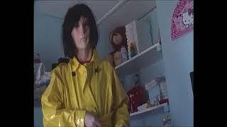 maddy   yellow  raincoat