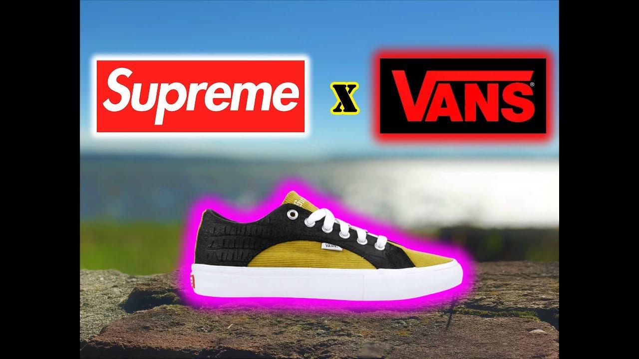 a7a106d842b3 Vans x Supreme Lampin Low