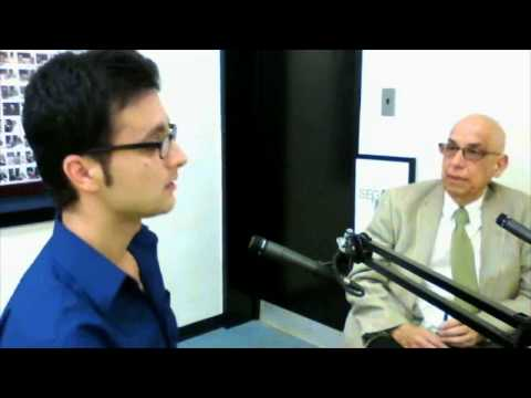 Dr. Aldemaro Romero Jr. interviewsRebin Ali from Kurdistan, Iraq, about music diplomacy