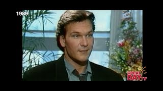 Flashback: Patty chats with Patrick Swayze