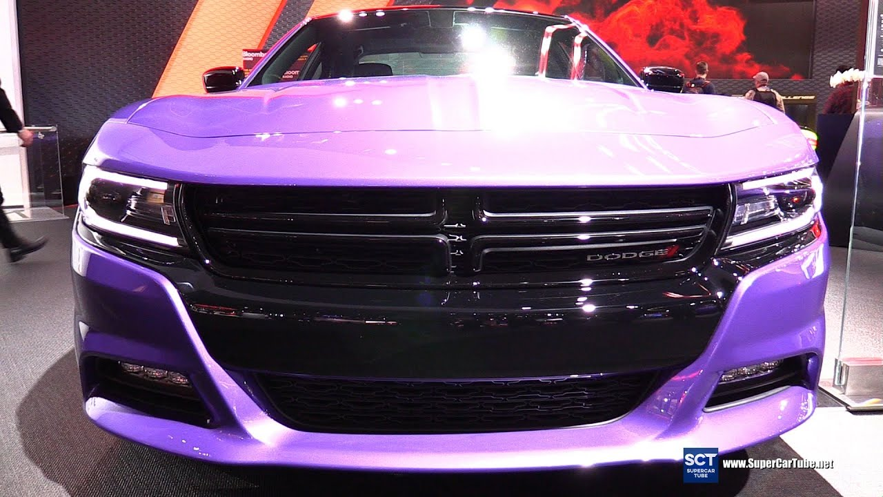 2016 Dodge Charger - Exterior and Interior Walkaround - 2016 Detroit Auto Show - YouTube