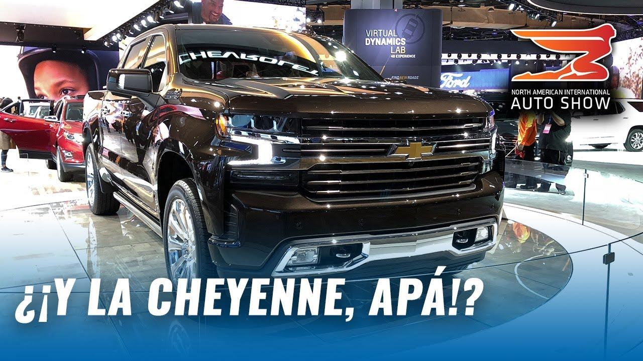 Nueva Chevrolet Silverado 2019 Desde El Autoshow De Detroit Youtube