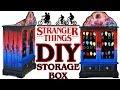 DIY Stranger Things Light Up Storage / Jewellery Box Tutorial