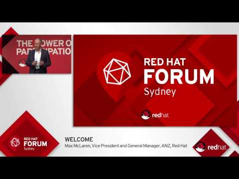 Highlights from Red Hat Forum Sydney 2016: Max McLaren & Joe Fitzgerald