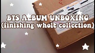 bts album unboxing! I spent close to $200 finishing them?! (reupload)  | berymlk☆゚
