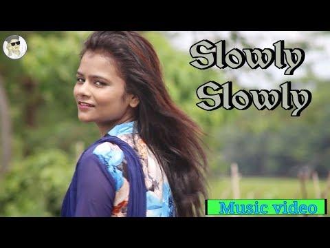 Slowly Slowly | Guru Randhawa | Pitbull | Cute Love Story Song | Hindi Song 2019 | Imran Unofficial