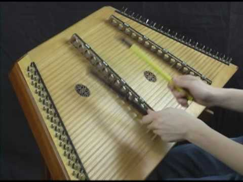 Irish Washerwoman - Hammer Dulcimer Played With Household Items