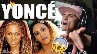 Beyoncé Music Evolution (1999 - 2017) REACTION