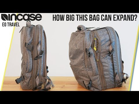 Incase EO Travel Backpack Review - How much it can Handle?