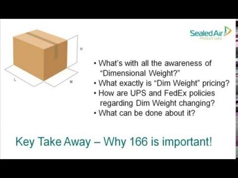 Dim Weight Webinar