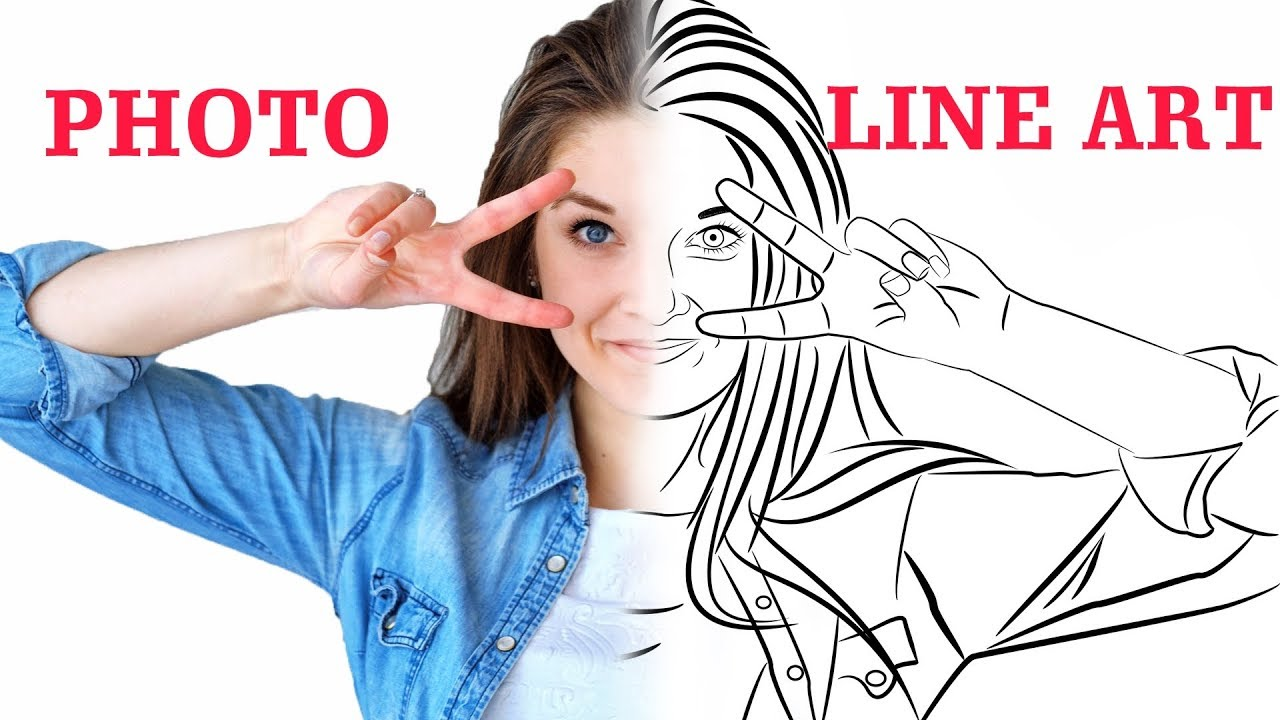 Convert Photo to Line Portrait Vector - Tutorial - Inkscape