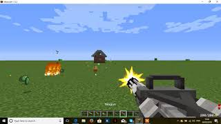 minecraft tech guns mod