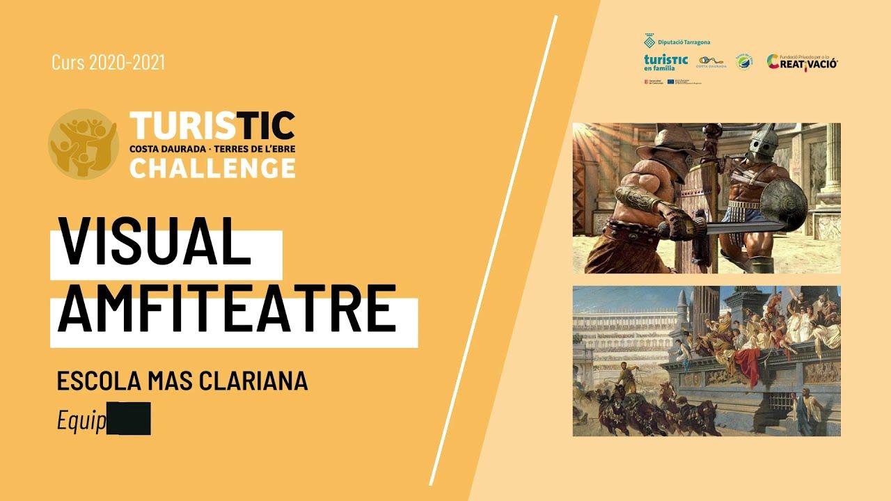"""""""Visual Amfiteatre"""" - Escola Mas Clariana"""