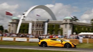 McLaren Automotive at the 2014 Goodwood Festival of Speed