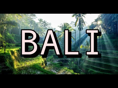Bali Indonesia Virtual Tour 4K