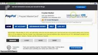 Transfer Cash From PayPal.com To Your Hands INSTANTLY! (No More Waiting 3-5 days)(Go HERE To Order NO Credit Check Card https://www.paypal-prepaid.com/prepaid-debit-card/applyNow.m?AID=Refer2PayPal&uref=3598249874 NO MORE ..., 2013-06-09T07:18:36.000Z)