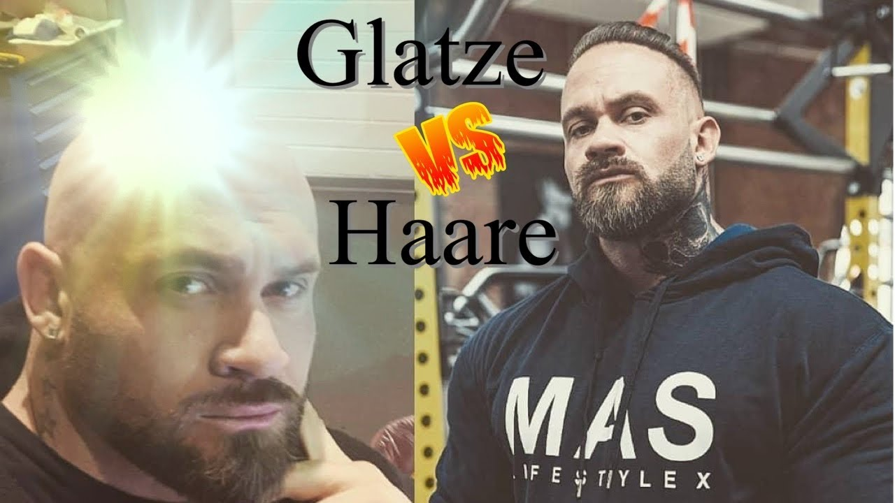 Glatze rasieren nach Haartransplantation - YouTube