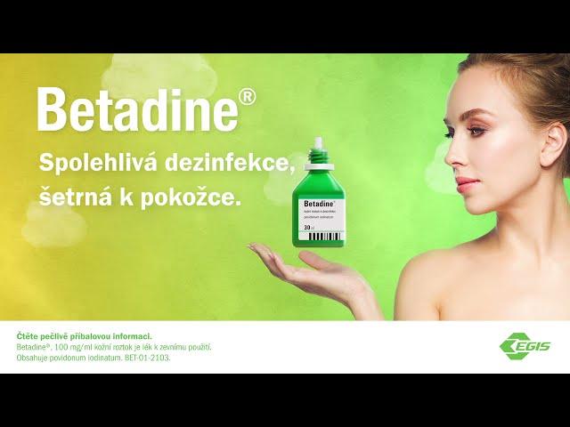 Máte už v lékárničce dezinfekci Betadine? 15