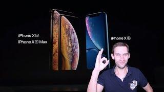 iPhone XS, XS Max, XR 2018 обзор, сравнение, чем отличаются от iPhone X