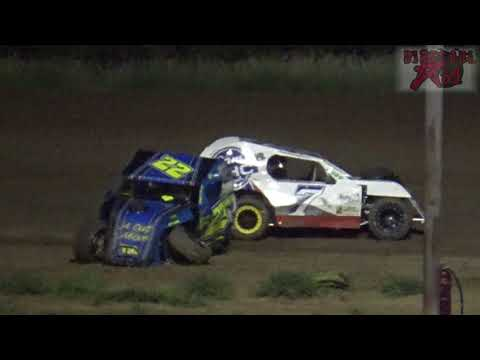 Salina Speedway - 7-27-18 - Auto House Towing Mod Lite A Feature