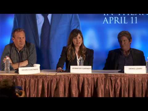 Draft Day: Press Conference Part 6 of 10 - Kevin Costner, Jennifer Garner, Terry Crews