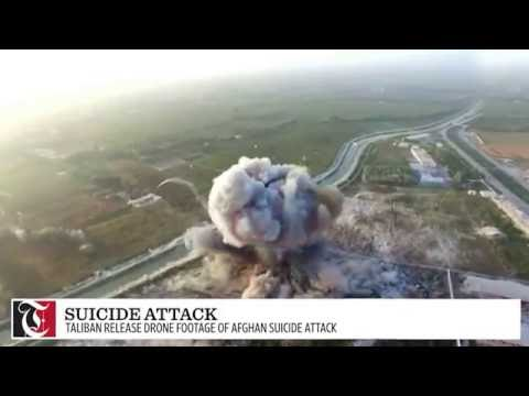 Taliban Release Drone Footage of Afghan Suicide Attack in Helmand by Paki ISI