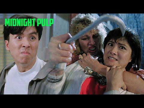 Cynthia Khan & Donnie Yen Vs. Hitman Squad | In The Line Of Duty 4: Witness (1989)