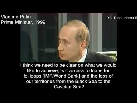 Putin predicts the Islamic State, 1999
