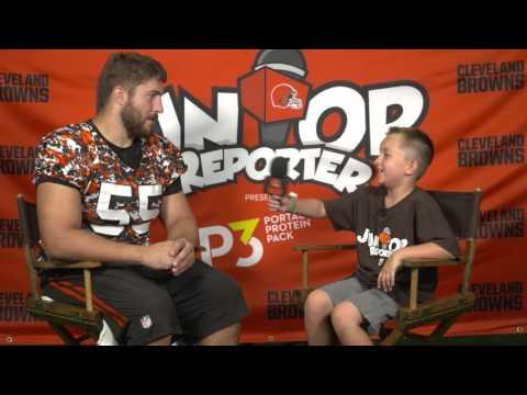 Junior Reporter with Alex Mack
